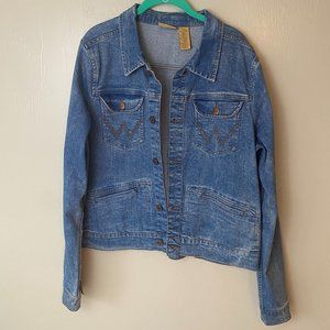Wrangler Jean Jacket Size XL
